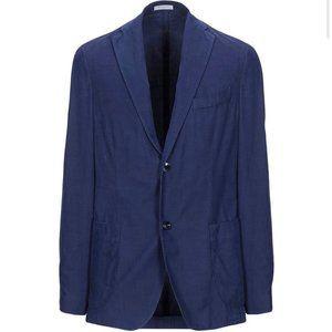 Boglioli Linea Wool Suit Jacket Blazer Blue Sz 48